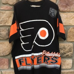 vintage 90's Philadelphia Flyers Salem sportswear NHL T shirt size XL