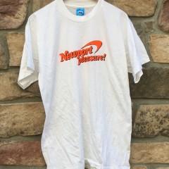 vintage 90's Newport pleasure cigarette t shirt