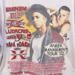 vintage eminem rap concert t shirt