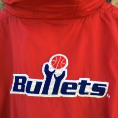 vintage washington bullets starter NBA jacket