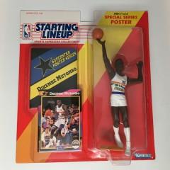 1992 Dikembe Mutombo Denver nuggets starting lineup toy