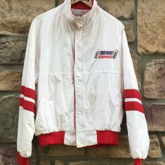 vintage 80's snickers racing team swingster jacket