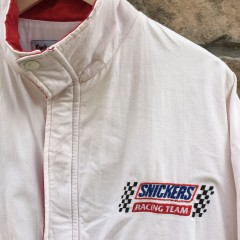 vintage 80's Snickers racing team jacket