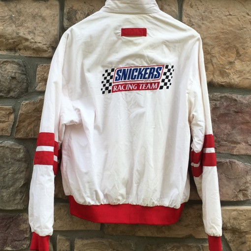 vintage 80's Snickers racing jacket