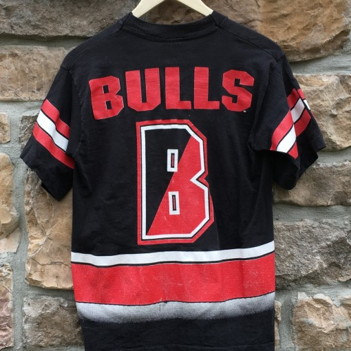 vintage 90's Michael Jordan Chicago Bulls Salem sportwear t shirt men's small