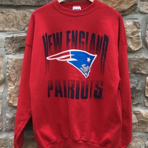1995 New England Patriots vintage NFL crewneck sweatshirt