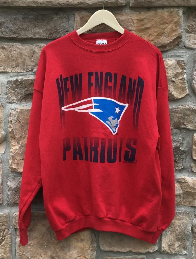 Hot 1995 New England Patriots NFL Crewneck Sweatshirt | Rare Vntg  free shipping
