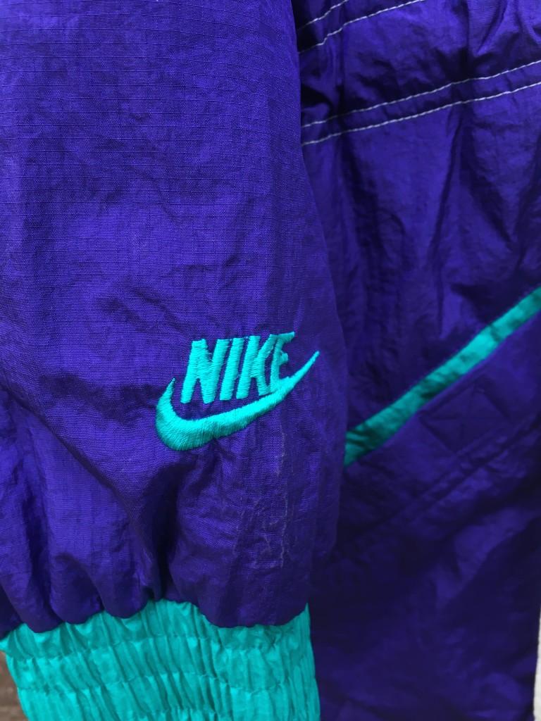 9b7832283f33 1990 Nike Flight Air Jordan 5 Grape Aqua Purple Jacket