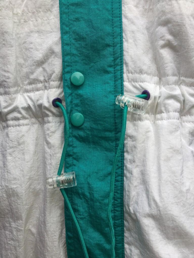 681f413700d2 ... air jordan 5 grape jacket. vintage 90 s nike flight jacket size XL.  vintage 1990 Aqua purple nike flight jacket