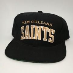 vintage new orleans saints starter arch snapback 1990
