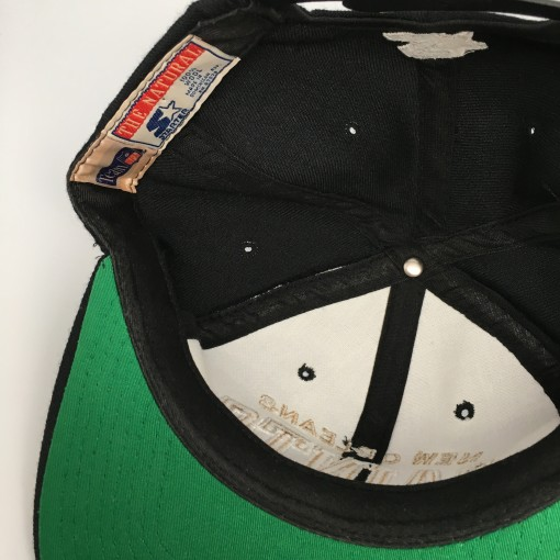 vintage New Orleans saints Starter the Natural snapback hat NFL