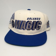 vintage 90's Orlando Magic shadow snapback hat sports specialties