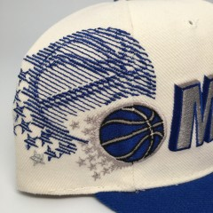 vintage orlando magic shadow sports specialties NBA snapback hat 90's