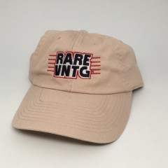 rare vntg Khaki Champion Dad hat