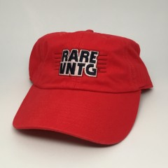 rare vntg champion dad hat red