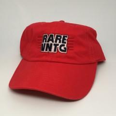 rare vntg champion dad hat red