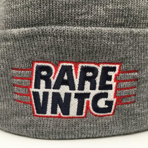 rare vntg logo hat grey