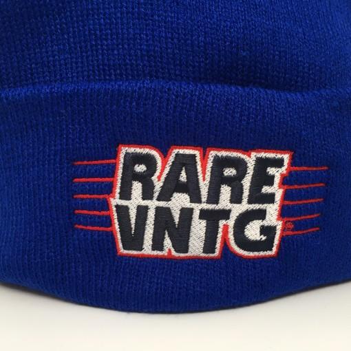 rare vntg logo hat blue