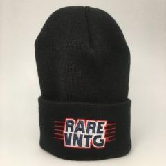 rare vntg beanie hat black