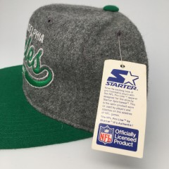 vintage deadstock philadelphia eagles starter snapback hat