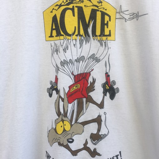 vintage WIle E Coyote Acme a name you can trust t shirt