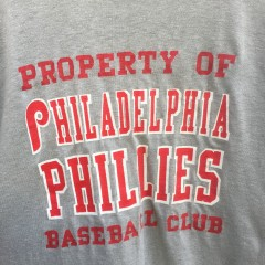 vintage 70's Property of Philadelphia Phillies baseball club Champion t shirt