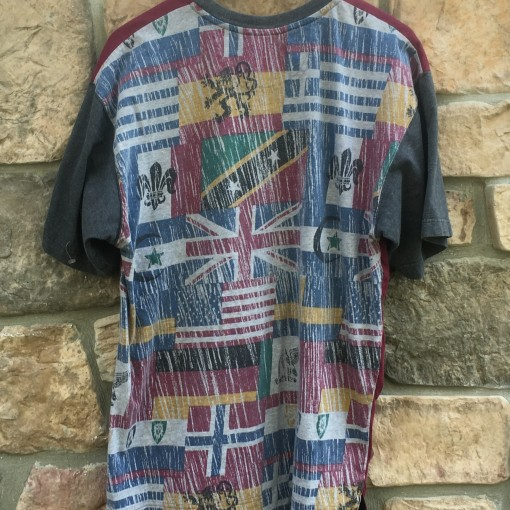 vintage 1994 World Cup International flag Adidas t shirt