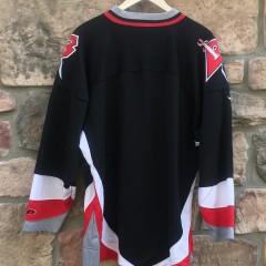 vintage blank black buffalo sabers nhl hockey jersey
