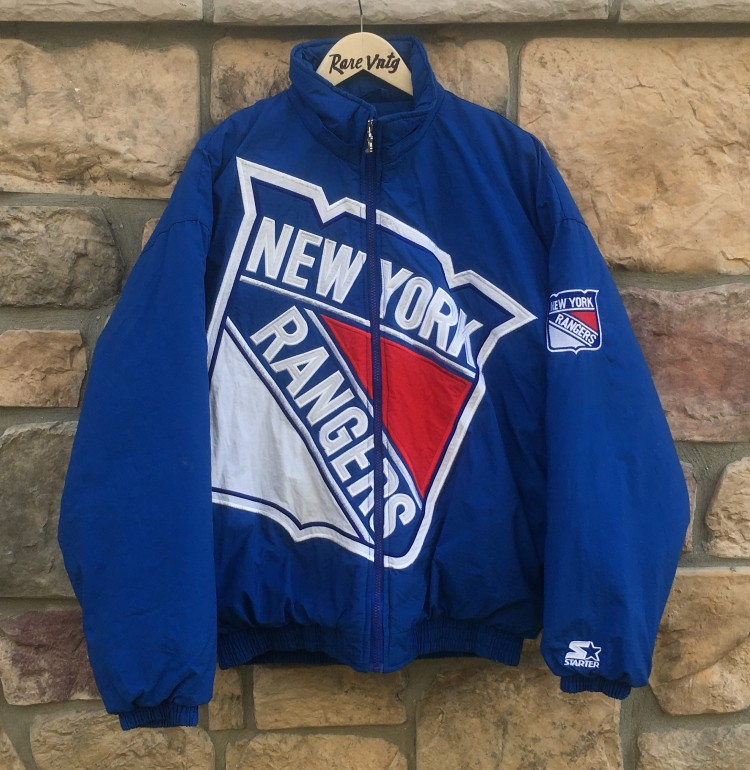 vintage 90 s New York Rangers Starter Big Logo NHL jacket size large b70c9ca81