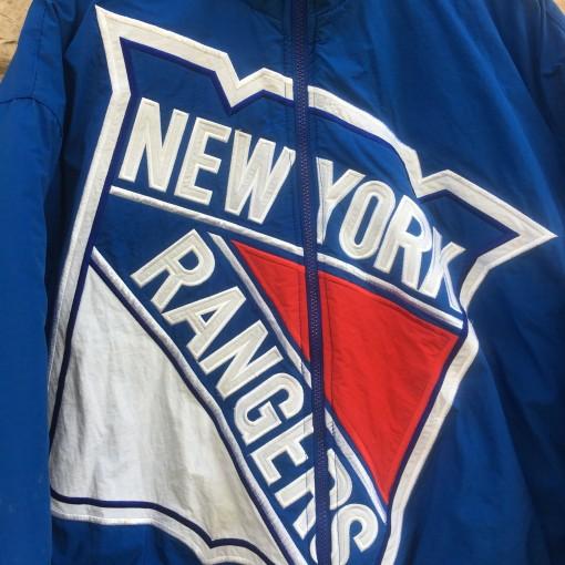 vintage 90's NY Rangers Starter Big Logo jacket
