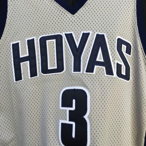 vintage Georgetown Hoyas AI jersey grey