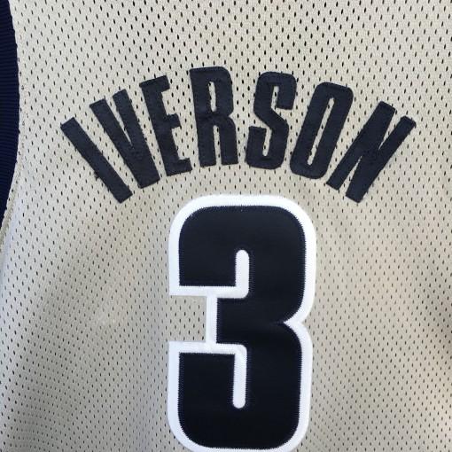 vintage Allen Iverson Georgetown Hoyas NCAA jersey