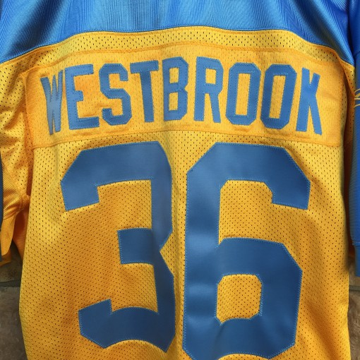 brian westbrook philadelphia eagles yellow jersey