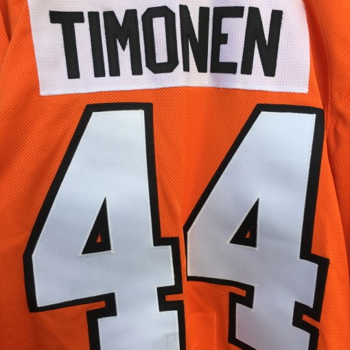 Kimmo Timonen Philadelphia Flyers authentic orange NHL jersey