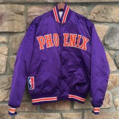 vintage 80's 90s Phoenix suns starter satin nba jacket