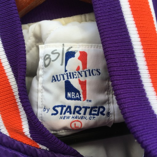 vintage starter nba jacket size large