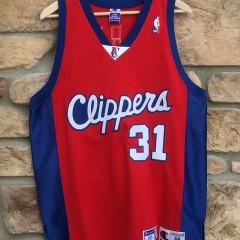 vintage brent barry lost angeles clippers authentic champion jersey 8e23a7fca