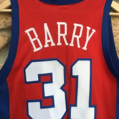 Brent Barry Clippers authentic Jersey