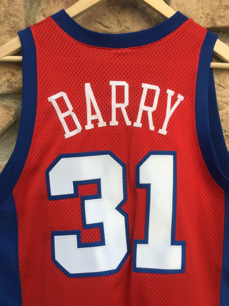Brent Barry Clippers authentic Jersey. vintage brent barry LA Clippers  authentic champion nba jersey. vintage champion authentic jersey size 44 79b3ccc9a