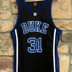 vintage duke blue devils shane battier nike authentic jersey