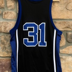 vintage shane battier authentic duke blue devils jersey