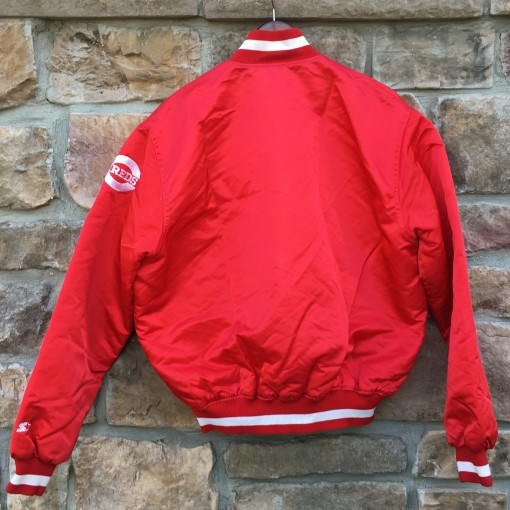 Reds red starter satin jacket from the 90's