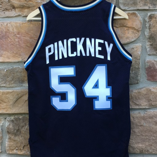 vintage 80's Pinckney Nova basketball jersey