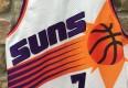 kevin johnson pro cut authentic 90's Champion Phoenix Suns jersey