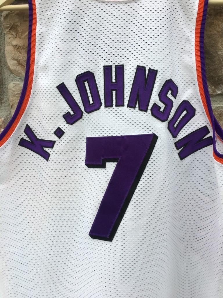 c5a0d562b 1996-97 Kevin Johnson Phoenix Suns Authentic Champion NBA Jersey ...