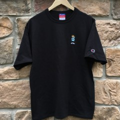 Champion Rare Vntg x Color of life heritage shirt black