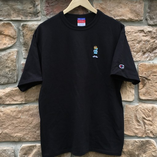 Champion Rare Vntg x Color of life heritage shirt black