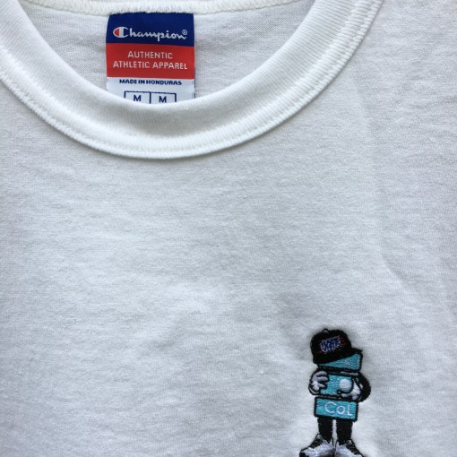 rare vntg color of life champion heritage t shirt white