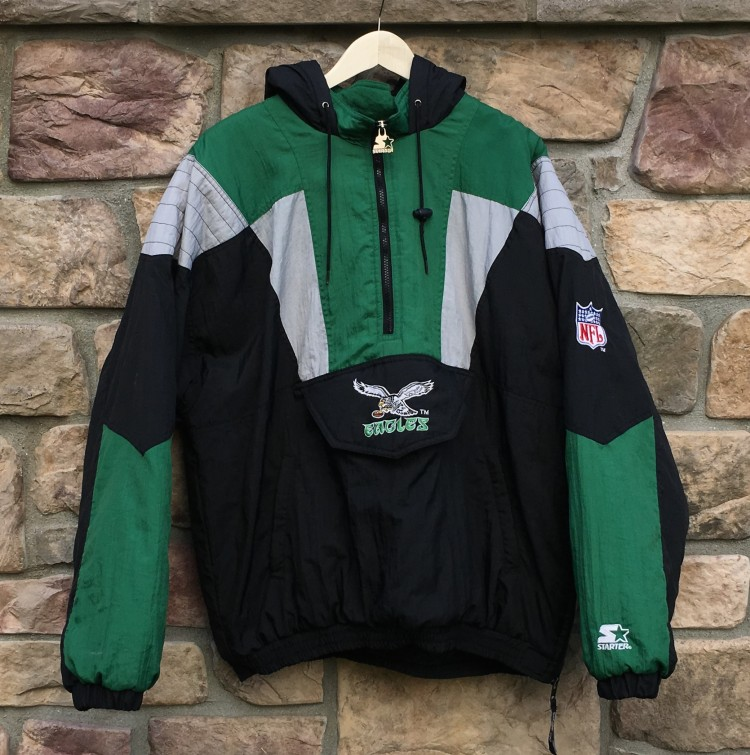 Kelly green eagles jacket