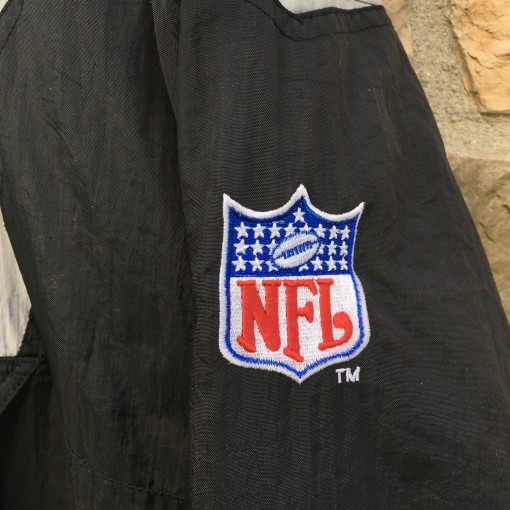 NFL patch on Starter jacket